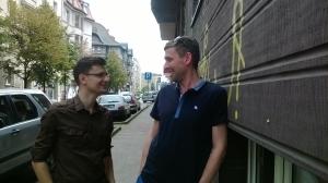 Grzegorz Żądło i Błażej Kusiak