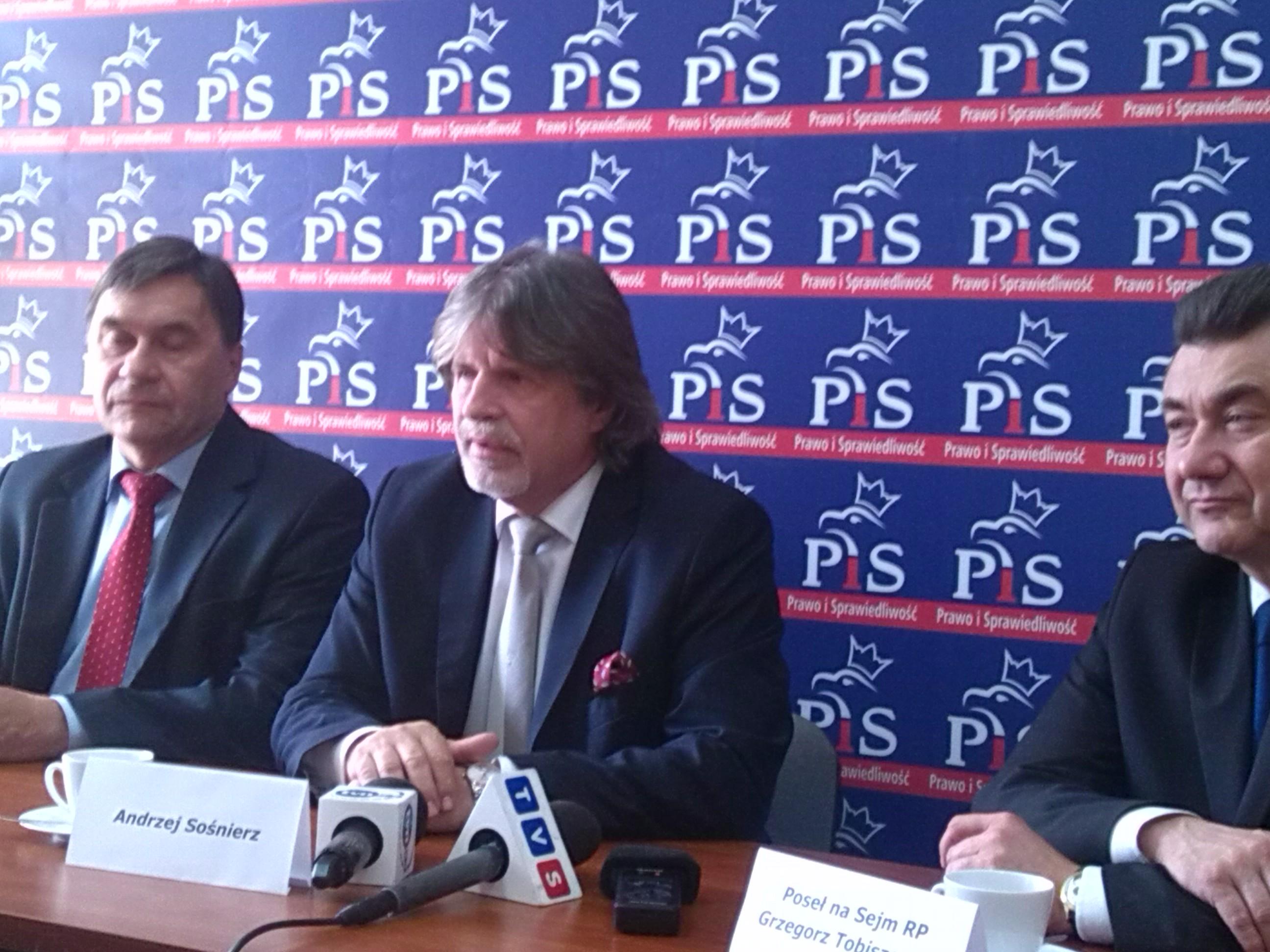 Wojciech Szarama_Andrzej Sośnierz_Grzegorz Tobiszowski