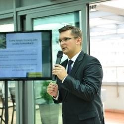 Marcin Krupa przekonuje,że kolej linowa to dobre rozwiązanie dla Katowic