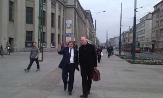 Andrzej Sośnierz i Jarosław Gowin