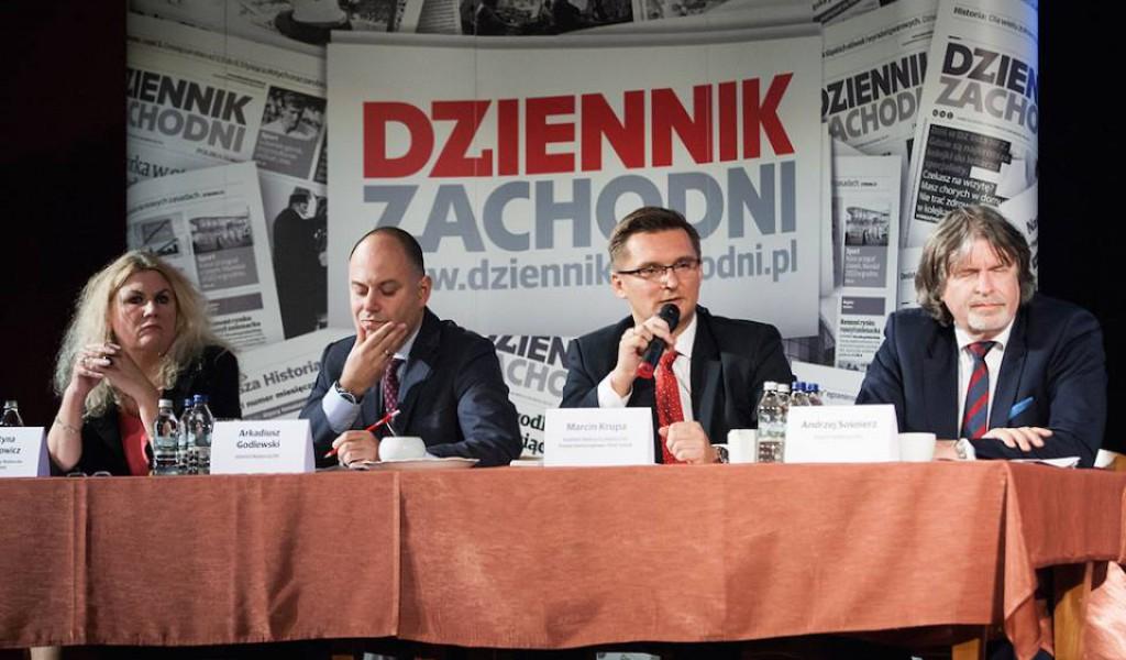 Debata kandydatów na prezydenta Katowic