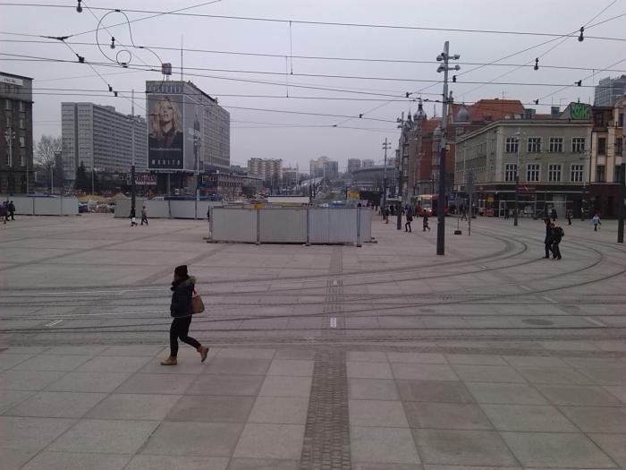 Centralny plac nowego Rynku