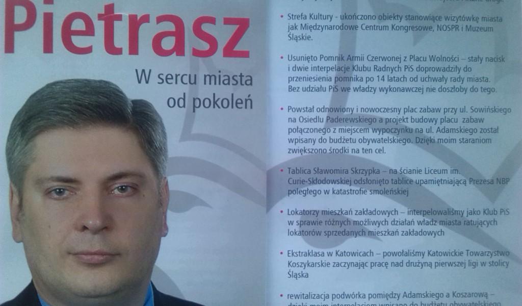 Ulotka P. Pietrasza