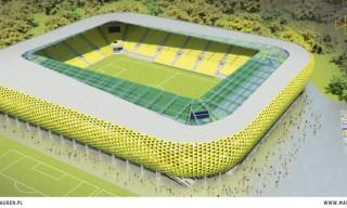 Wizualizacja stadionu GKS