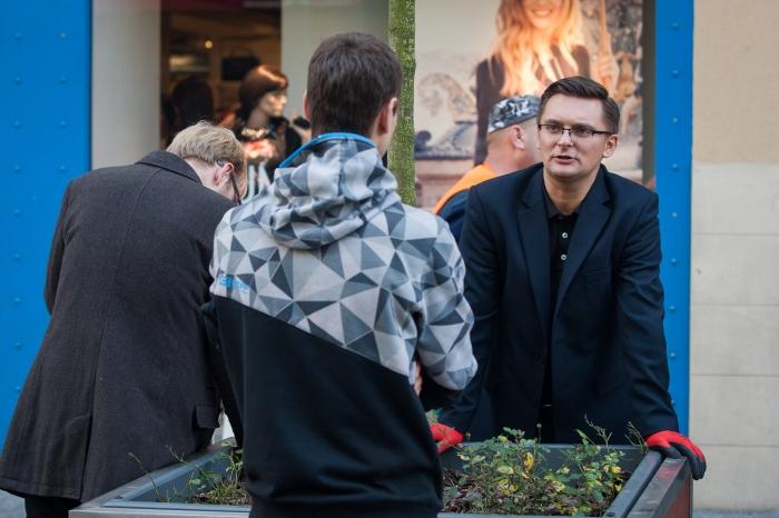 Marcin Krupa w kampanii wyborczej