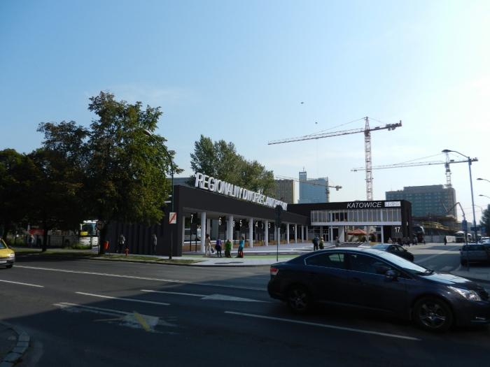 Tak ma wyglądać dworzec autobusowy w Katowicach