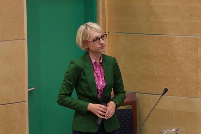 Anna Wietrzyk. Fot. biuro prasowe UŚ