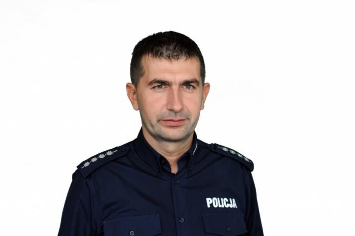 Marek Wypych. Fot. KMP w Zabrzu