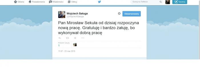 Twitter W.Saługa