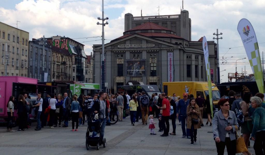 Food trucki Katowice Rynek