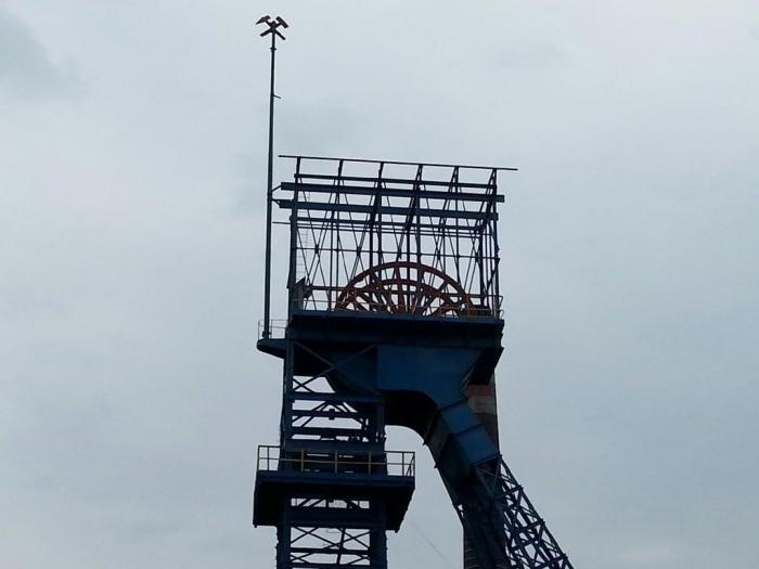 """Wieża wyciągowa szybu """"Siemianowice III"""""""