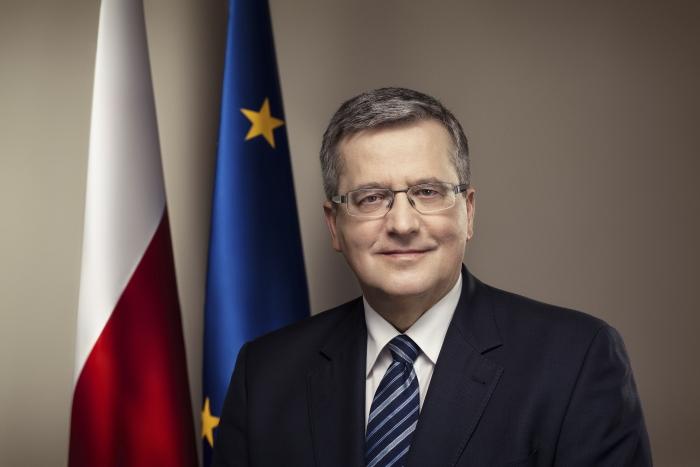 Prezydent Bronisław Komorowski. Fot. www.prezydent.pl