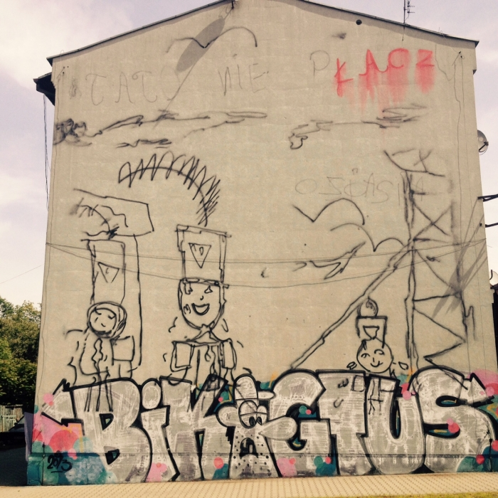 Mural Katowice Kupca 14