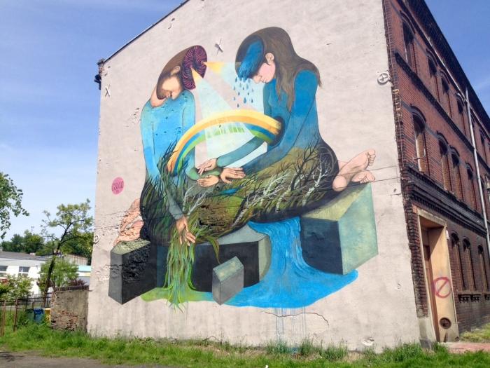 Mural Katowice Siewna 9