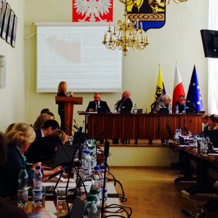 Sesja rady miasta Katowice
