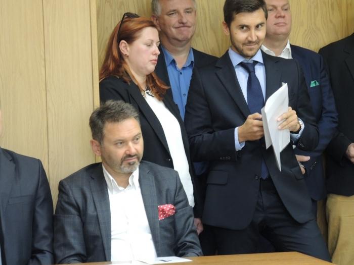 Piotr Miklis i Krzysztof Gaczorek