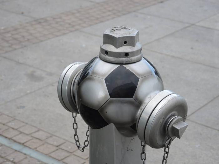 Hydrant na Rynku.