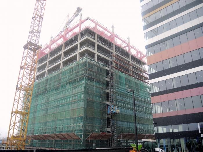 Budynek B i C Silesia Business Park.