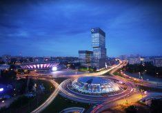 1 .KTW - panorama wieczór