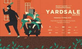 Mustache Yard Sale