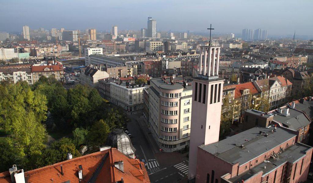 Katowice z góry