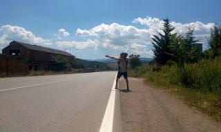 Po przekroczeniu granicy macedonsko-albanskiej