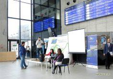 Slaski Studencki Festiwal Nauki, Dworzec Glowny w Katowicach