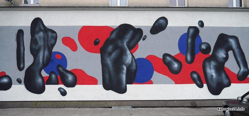 Mural, ul. Mariacka Tylna