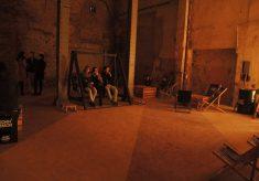 Sala w starym dworcu