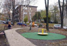 Skwer przy ul. Broniewskiego 2