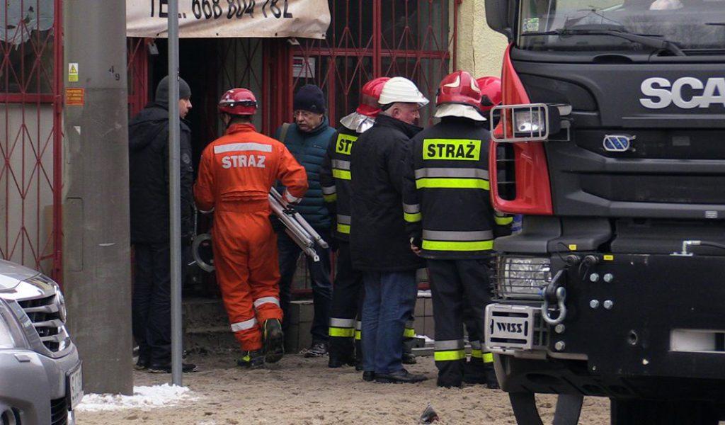 Wypadek w kamienicy, ul. Obroncow Westerplatte (3)