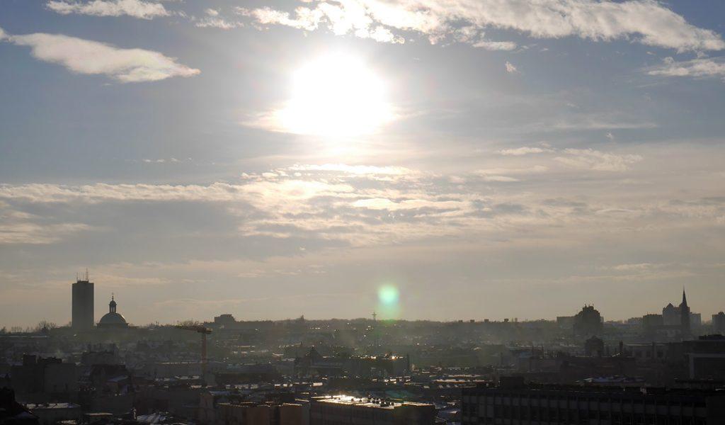 panorama, niebo
