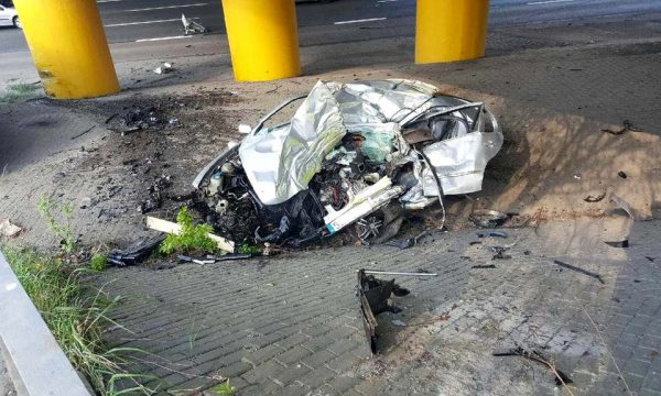Tragiczny wypadek na DTŚ-ce. Kierowca nie żyje