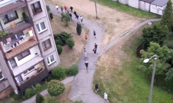 Kibole pocięli maczetami trzy osoby w Katowicach