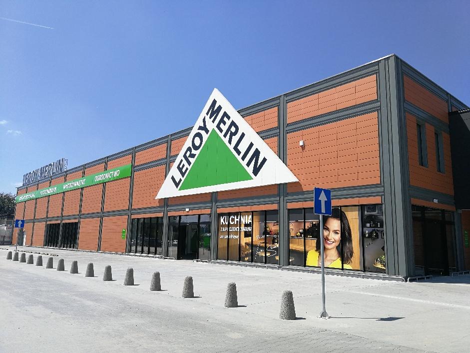 Ogrod Na Dachu I Kilkaset Miejsc Parkingowych Nowy Leroy Merlin W Katowicach Otwarty Katowice24