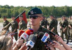 Karol Toczniak, Starszy szeregowy z pułku reprezentacyjnego Wojska Polskiego w Warszawie.