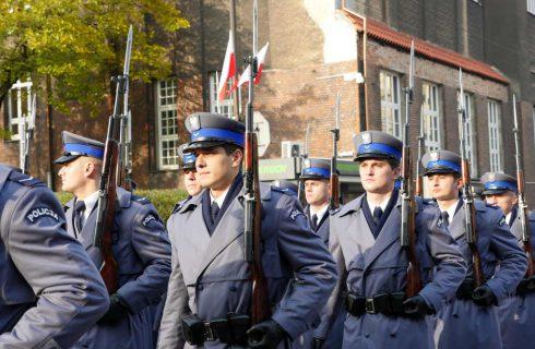 Policjanci przejdą ulicami Katowic