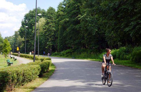 Nową pętlą na Muchowcu nie pojadą rowerzyści