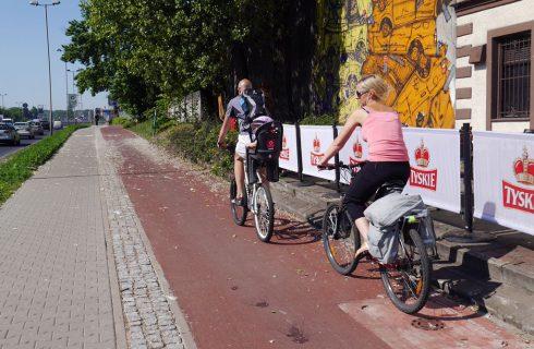 Kończy się budowa dwóch dróg rowerowych w Katowicach
