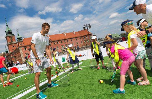 W sobotę na Rynku będzie można pograć w tenisa