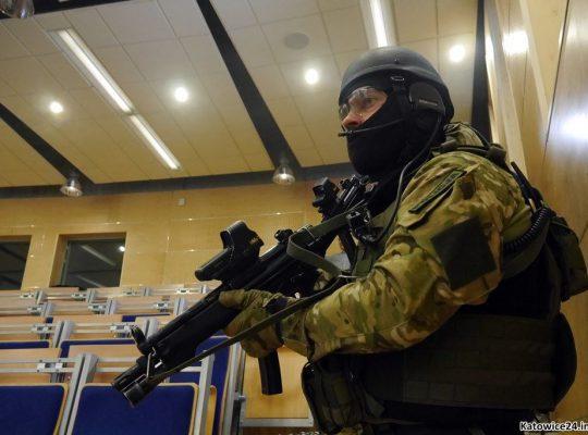 Terroryści na Uniwersytecie Śląskim [WIDEO]