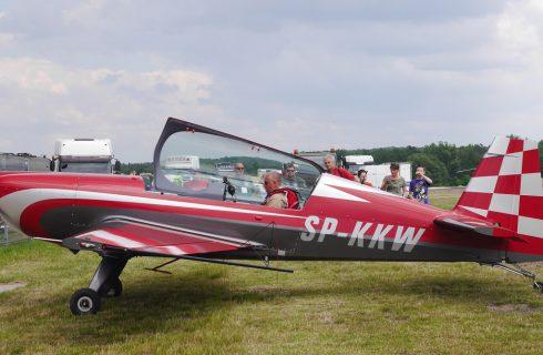 Rodzinny duet pilotów z Janowa lata nad Katowicami [WIDEO]