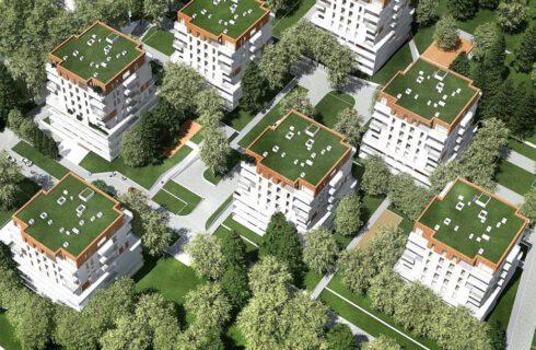 Deweloper, który chce zbudować osiedle przy Parku Śląskim, ma pretensje do urzędników. Chodzi o wycinkę drzew