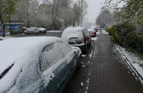 Dzień dobry Katowice. Będzie zimno i śnieżnie