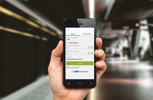 Nowa aplikacja do kupowania biletów przez telefon w Kolejach Śląskich