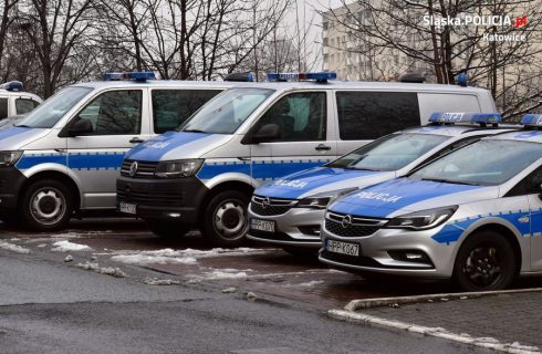 Katowicka policja dostała nowe radiowozy