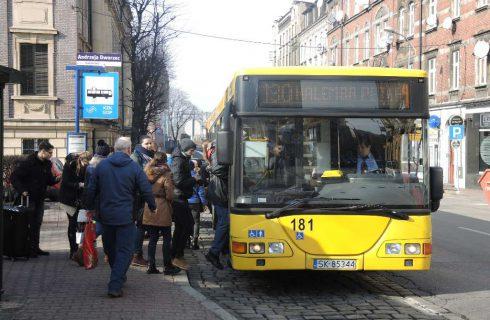 Zmiany w kursowaniu autobusów. Mniej połączeń z przystanku Katowice Drzymały