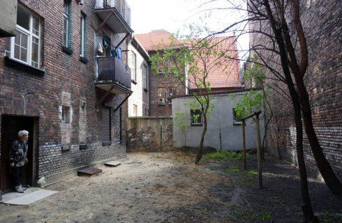 Podwórko w Załężu dostanie drugie życie