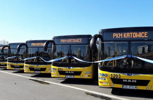 Na ulice Katowic wyjechały nowe autobusy. PKM zainwestował ponad 36 mln zł
