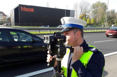 Policjanci mają nowy laser. W Katowicach trwają testy radaru